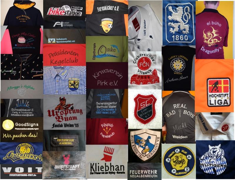 Firmen- und Vereins-Kleidung