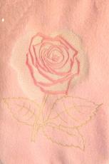 Wärmflaschenbezug Rose mit Wärmflasche