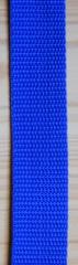 Gurtband 25mm royal-blau