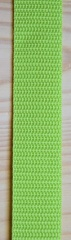 Gurtband 25mm hell-grün
