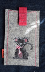 Handyhülle Mäuschen