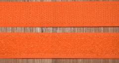 Klettband orange 20mm