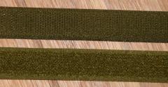 Klettband oliv 20mm