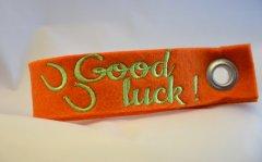 Schlüsselband Good luck