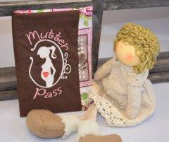 Mutterpasshülle - Wunschanfertigung braun