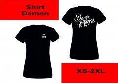 T-Shirt Dance Kids XS-XXL Damen