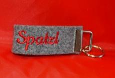Schlüsselband mit Klemme Spatzl