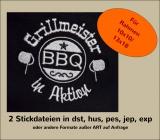 Stickdatei Grillmeister-BBQ