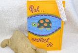 Untersuchungsheft-Hülle Schildkröte