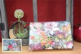 Messbuchhülle Blumenmeer-bunt Stickerei