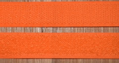 Klettband orange 20mm