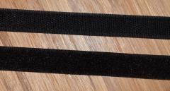 Klettband schwarz 16mm