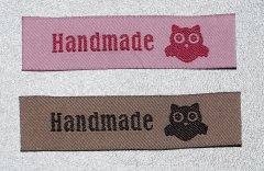 Weblabel  Handmade Eule