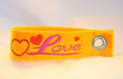 Schlüsselband Love