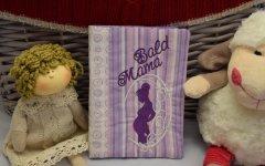 Mutterpasshülle - Wunschanfertigung lila