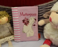 Mutterpasshülle - Wunschanfertigung rosa
