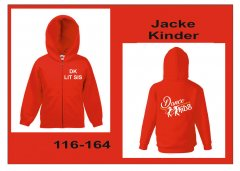 Hodded-Jacke Dance Kids 116-164 Kinder