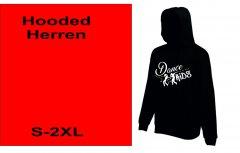 Hodded-Jacke Dance Kids S-XXL Herren