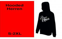 Hodded Dance Kids XS-XXL Damen