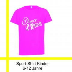Sport-Shirt Dance Kids 6-12 Jahre