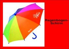 Regenbogen-Regenschirm