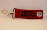 Schlüsselband mit Karabiner und Öse Hotel Mama